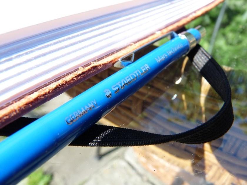 Staedtler Mars Technico clutch pencil branding
