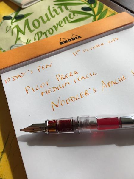 Today's pen