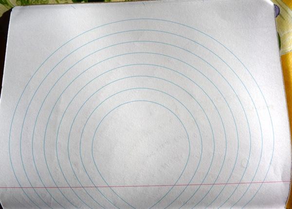 Inspiration Pad notebook ink test back