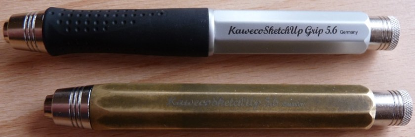 Kaweco Sketch Up Brass and Aluminium clutch pencil review