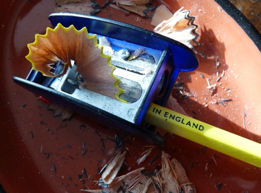 Six Mile Pencil sharpening