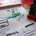 Diamine Umber ink review