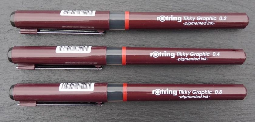 Rotring Tikky Graphic capped
