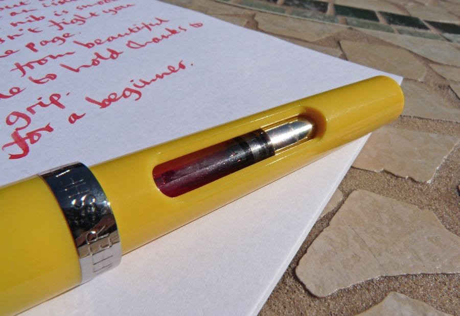 Sheaffer Viewpoint Calligraphy Pen Review Pens Paper