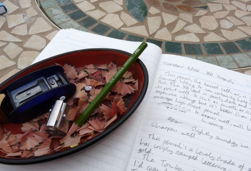 Tombow 8900 resting