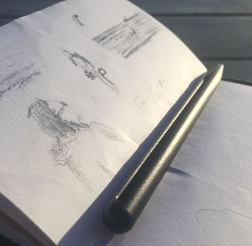 Penxo Pencil with notebook
