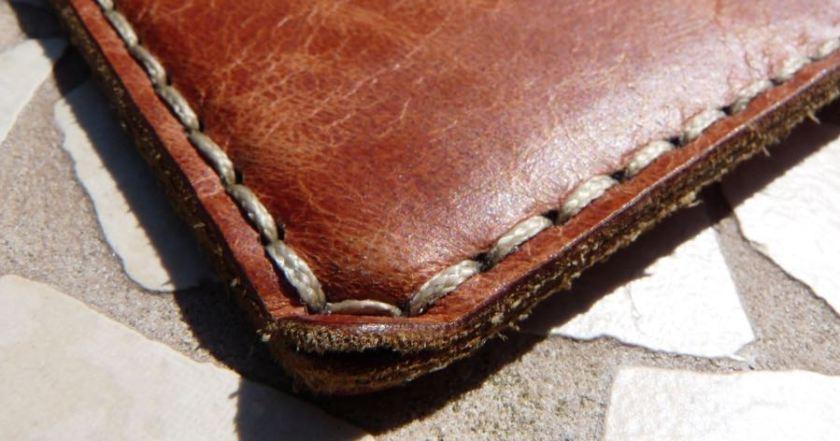 Galen wallet notebook corner