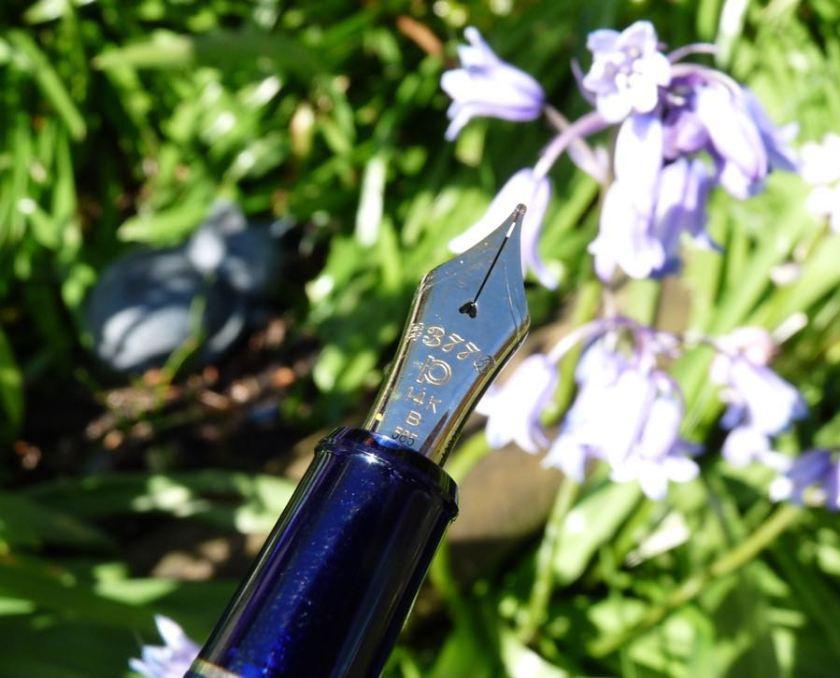 Platinum 3776 Chartres Blue nib
