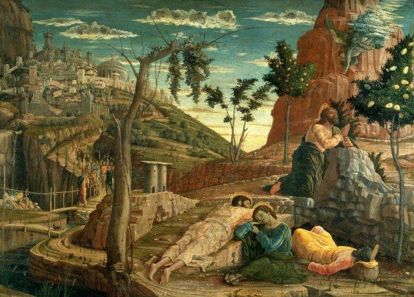 The Agony in the Garden, Andrea Mantegna, 1457-1459