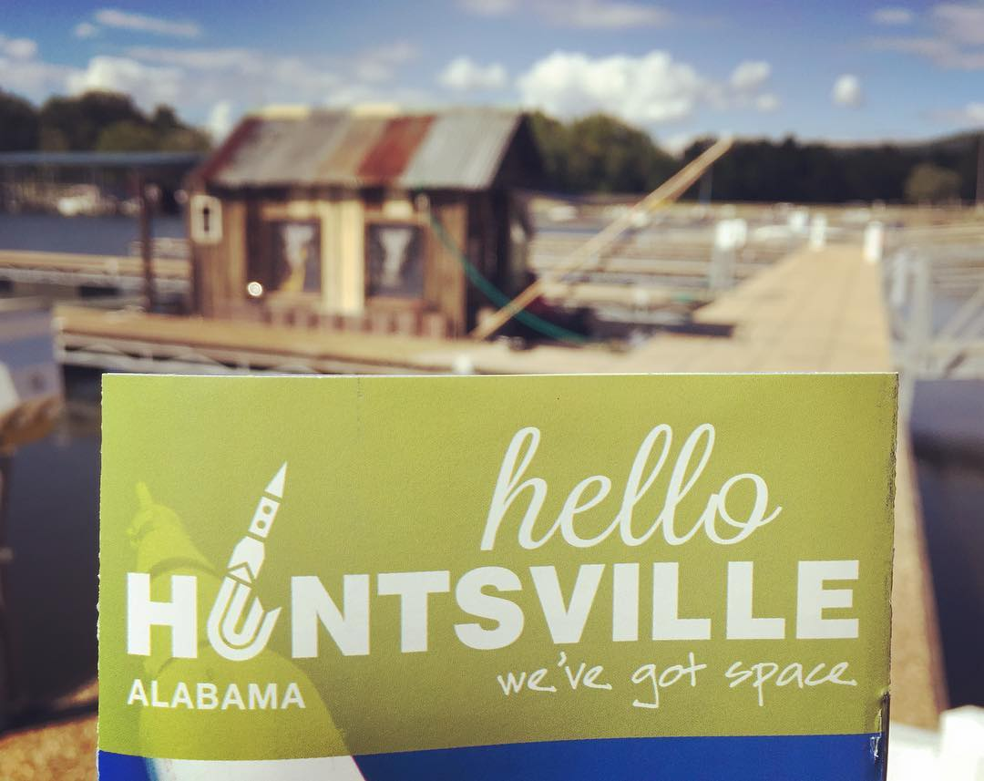 In Huntsville? Stop by the Secret History Open House on the shantyboat at Ditto Landing. See the boat, tell us your story, play the banjo. We'll be here until 7pm