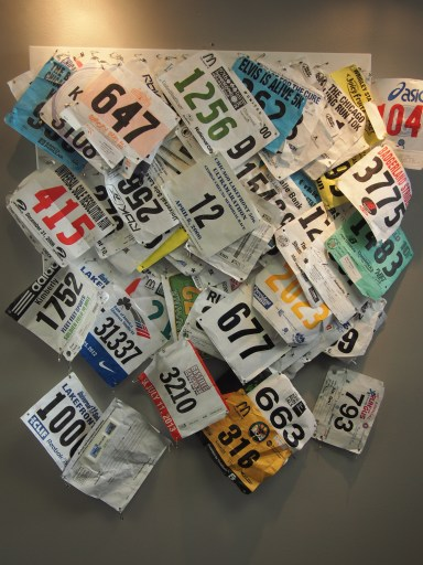 Kimberly's Marathon Numbers on PWP