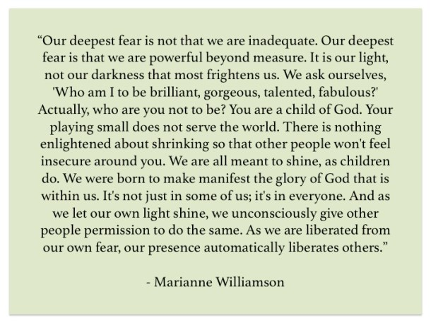 Marianne Williamson on People With Panache