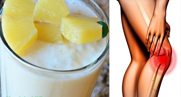 3 Ingredient Smoothie Recipe to Prevent Chronic Knee and Joint Pain.