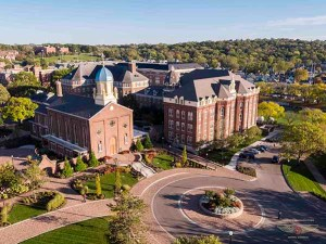 University of Dayton Drone Photo