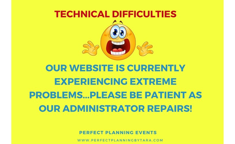 Website Currently Down!