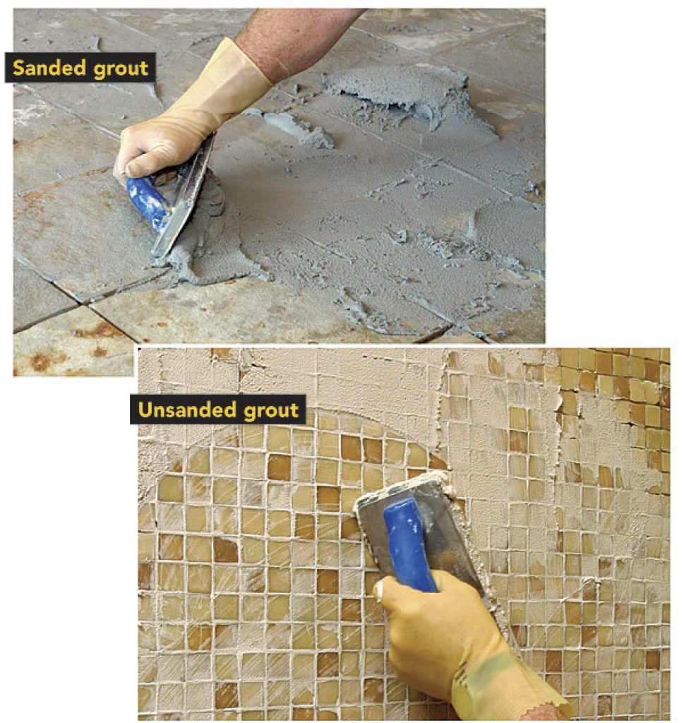 Fullsize Of Sanded Vs Unsanded Grout