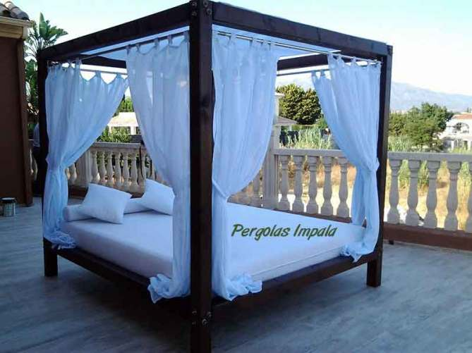 Pergolas Impala beach-beds