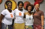 Lucia, Thays, Denna e Nina - integrantes do Manifesto Crespo (Foto: Divulgação)
