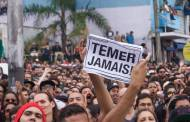 Manifestação contra Michel Temer na Virada Cultural. (Foto: Arrua Coletivo)