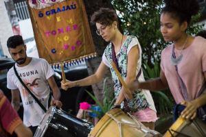 Ensaio de portas abertas é um convite à comunidade (Foto: Aline Rodrigues / Periferia em Movimento)