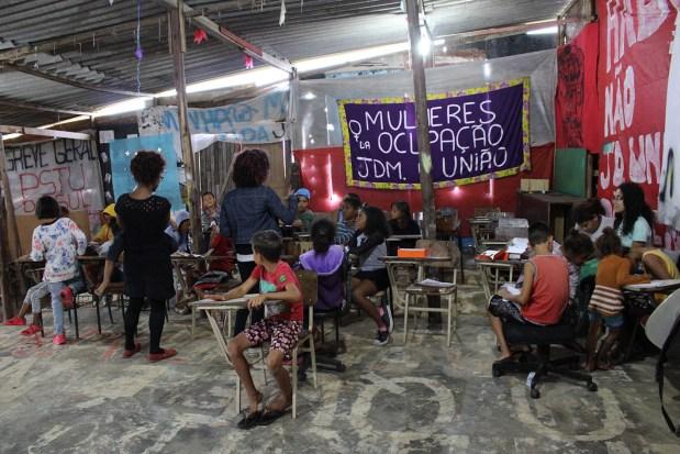 Oficina Repórter da Quebrada na Ocupação Jardim da União.