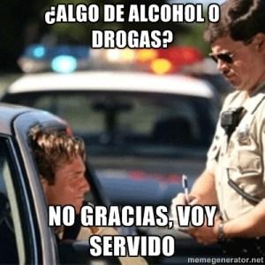 alcohol conduccio