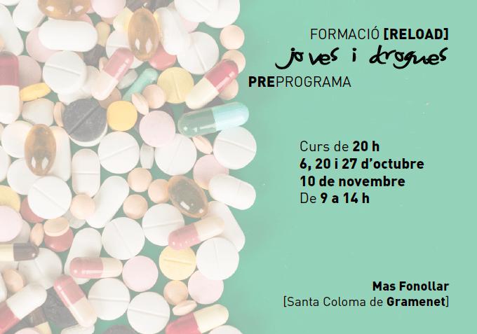 Curs Joves i Drogues a Santa Coloma de Gramanet (20h)