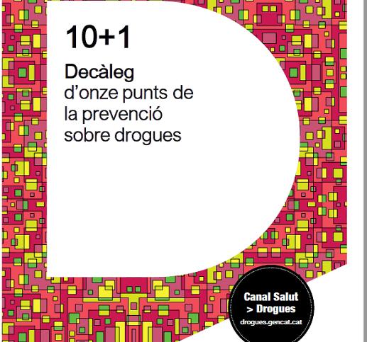 decàleg prevenció drogues