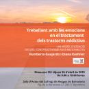 Curs: Treballant amb les emocions en el tractament dels trastorns addictius