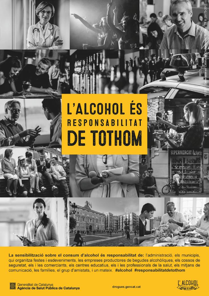 IV Setmana de sensibilització sobre els riscos del consum d'alcohol
