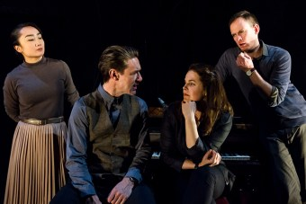 (left to right) Jing-Xuan Chan, Ben Prendergast, Kate Cole & Paul Ashcroft in Incognito