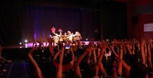"""El lanzamiento de la obra """"Six Pack"""" de comedia fue el pasado 24 de febrero en el Teatro Corfescu. Los comediantes cumplieron su cometido llenando las 700 sillas del escenario. /FOTO ANGÉLICA JIMÉNEZ BLANCO"""
