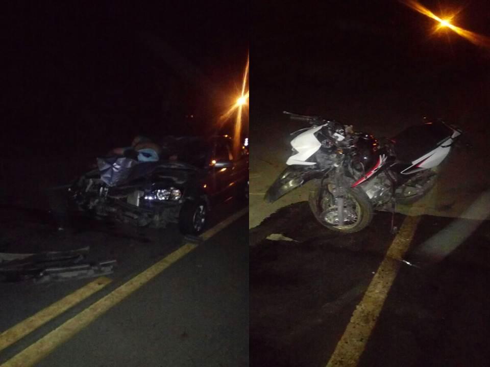 Motociclista pierde la vida al chocar con automóvil en Puerto Tejada