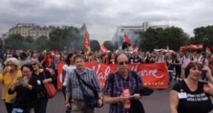 Reforma laboral en Francia: 50 000 manifestantes en París