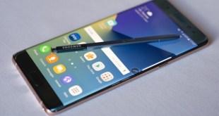 Samsung Galaxy Note 7: prohibido volar en EEUU