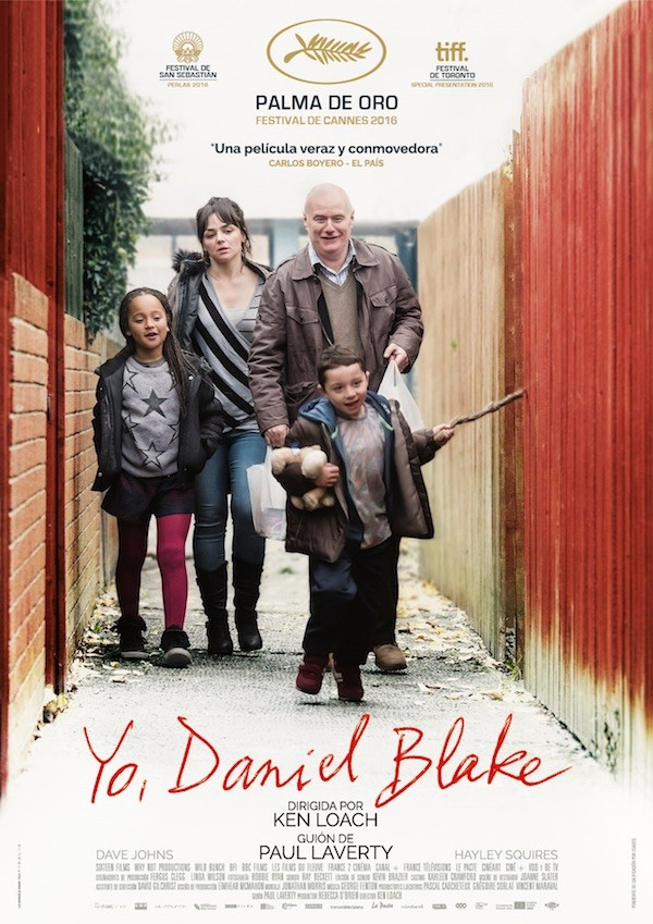 """Yo, Daniel Blake"", grito de rebeldía de Ken Loach: otra obra maestra"