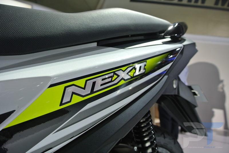 Kelebihan Suzuki Nex II Desain Sporty