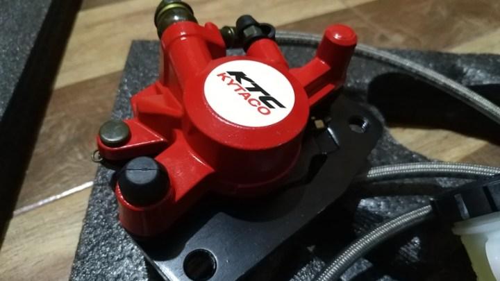Paket Cakram Belakang Yamaha Aerox : Merek KTC, Harga 1,5 Juta, Lengkap Tinggal Pasang!