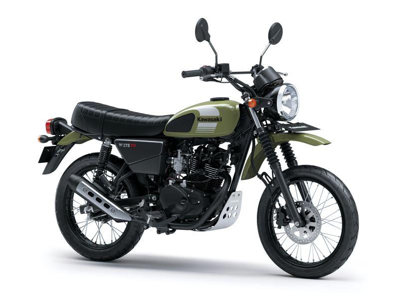Resmi di Luncurkan, Kawasaki W175TR Jadi Motor Scrambler Pertama di Indonesia!