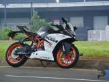 KTM rakit motor lokal