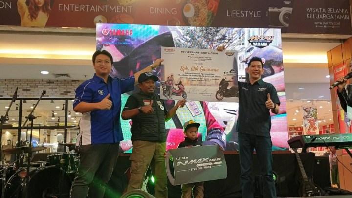 Yamaha Kasih Hadiah All New NMAX Buat Rider yang Touring Jambi – Mekkah!