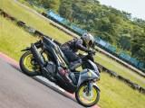 test ride All New Aerox 155