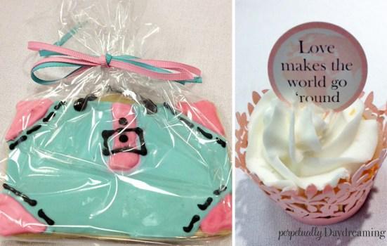 Travel Bridal Shower Luggage Cookie Cupcake