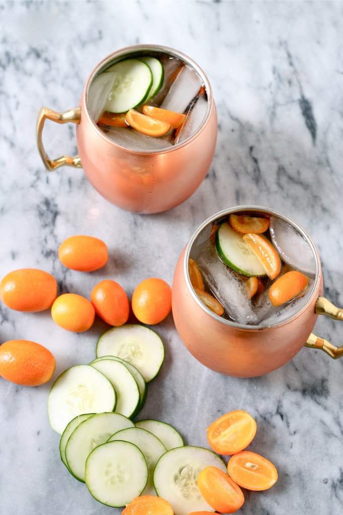 cucumber kumquat moscow mule