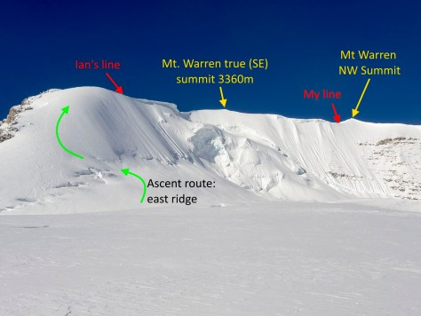 Mt Warren route