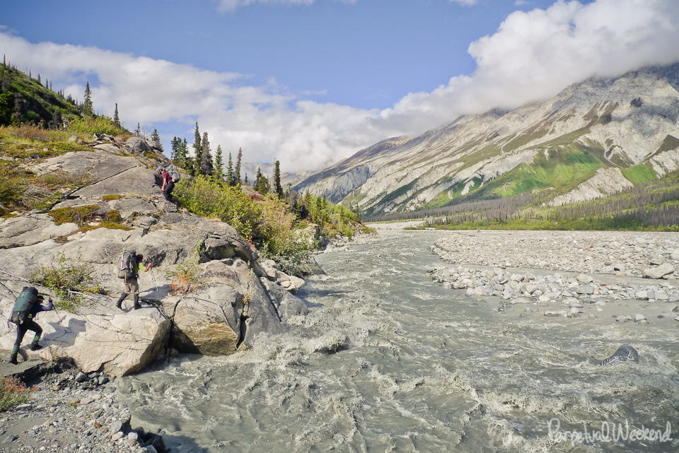 goat creek, granite range, backpack, hike, wrangell st elias