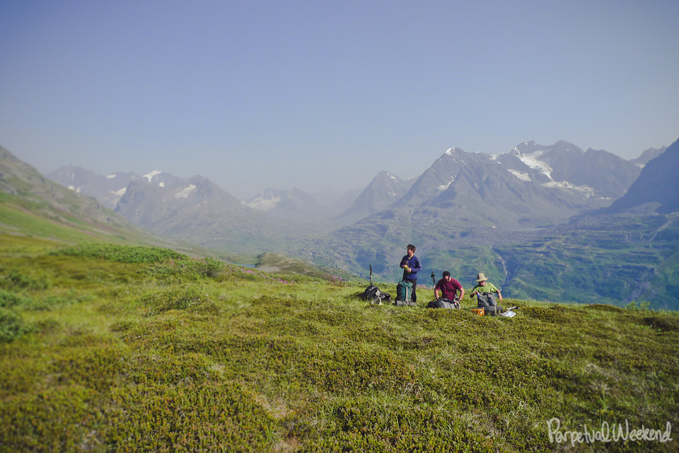 Backpacking in Wrangell St Elias National Park Alaska
