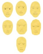 Faces of the 7 soul types