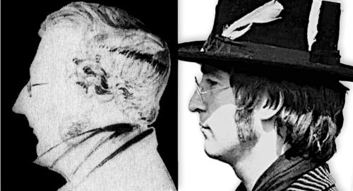 Branwell Bronte John Lennon