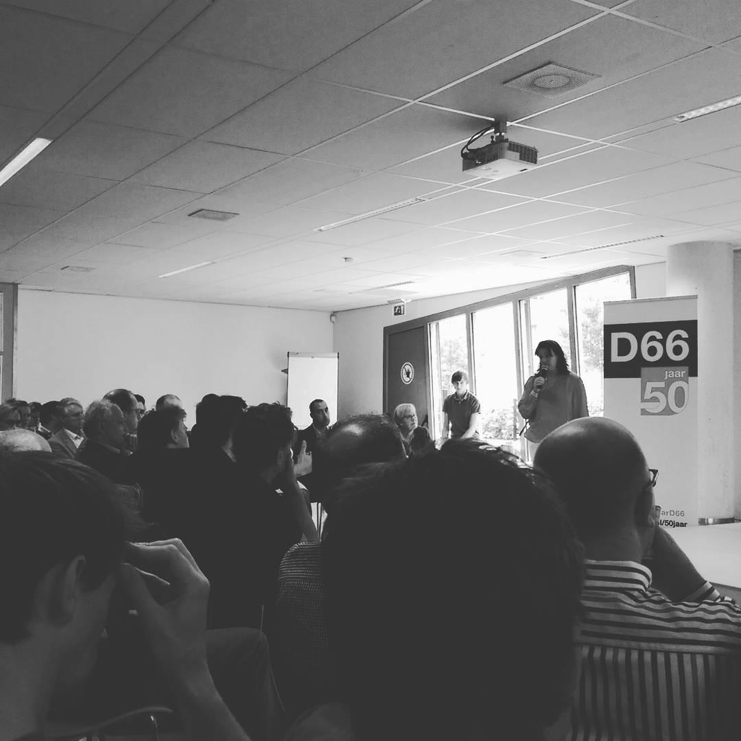 Bijeenkomst met besturen van #D66
